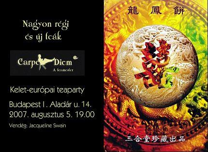 Pozvánka na východoevropskou čajovou párty